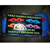 Free NIP TEENAGE MUTANT NINJA TURTLES EYE MASK
