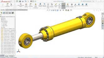 design and manufacturing of hydraulic cylinders pdf solidworks tutorial sketch hydraulic cylinder in