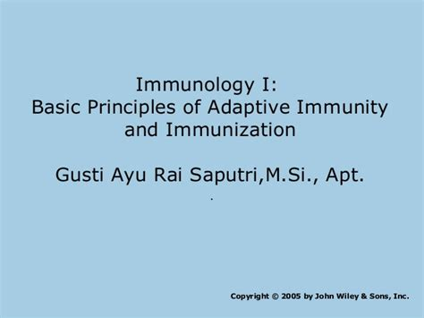 Imunologi Dasar Ed 10 kul 2 prinsip dasar imunologi
