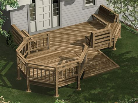 deck house plans inspiring house deck plans 5 multi level deck designs and