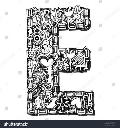 gambar doodle huruf populer  terlengkap top meme