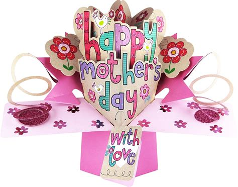 popup cards templates mothers day happy s day lettering s day pop up card