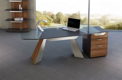 modern glass top computer desk haven modern desk elite modern