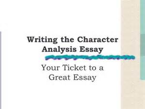 Character Analysis Essay Sle by Using An Anecdote In An Introductory Paragraph Ppt