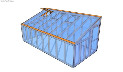 Lean To Greenhouse Plans Free Garden Plans How To Lean To Building Plans Free