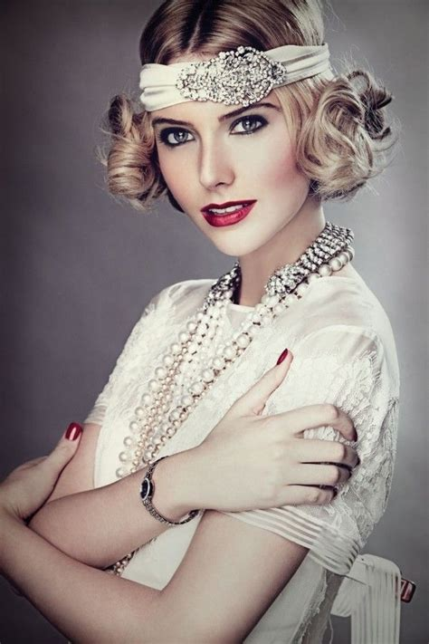 hair styles from roaring 20s 30s 7 wedding hairstyles for girls with short hair