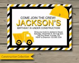 truck birthday invitations bagvania free printable invitation template