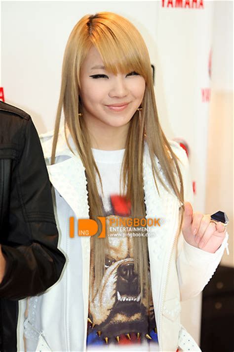 cl 2ne1 black hair what color hair cl looks better in poll results 2ne1