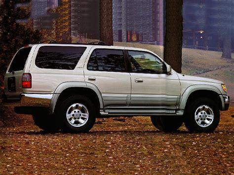 1997 Toyota 4runner Mpg 1997 Toyota 4runner Specs Safety Rating Mpg Carsdirect