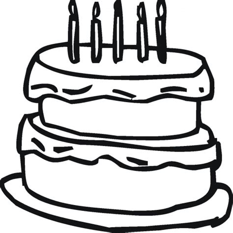 coloring happy birthday cakes candles pages birthday coloring pages cakes and candles kids