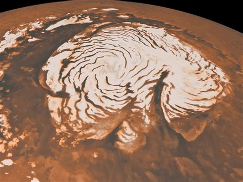 Find On By Age Scientists Find Evidence Of Age At Mars Pole