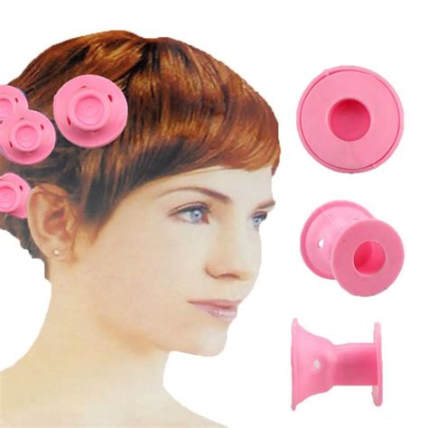 hair curlers rollers silicone hair curling tool hair care diy peco roll hair