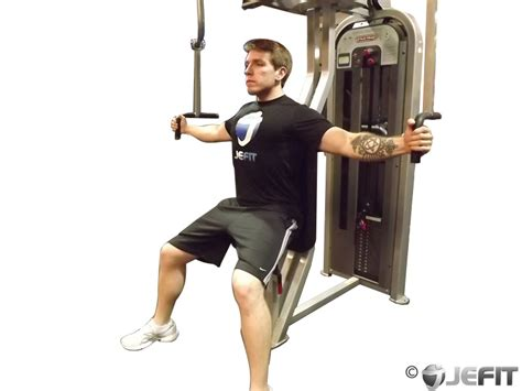 butterfly bench press machine fly exercise database jefit best android and