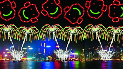 hong kong new year show lunar new year 2016 look at fireworks set to dazzle