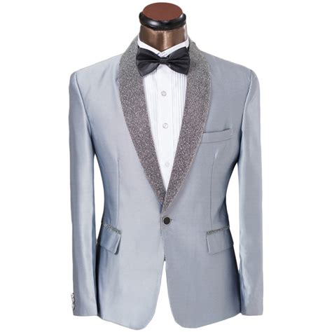 Handmade Mens Suits - popular silver prom suits buy cheap silver prom suits lots