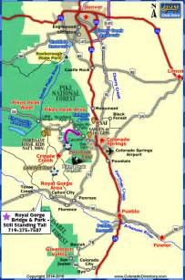 colorado springs area map about maps of colorado springs colorado springs