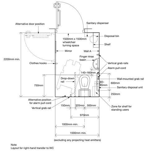 hitheater floor plan accessible bathroom design