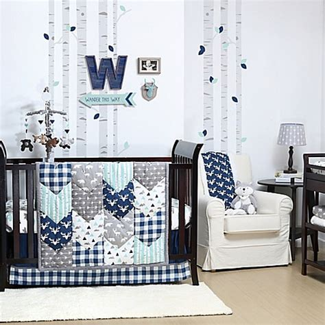 Pahe Set Baby Collection the peanut shell 174 woodland trails crib bedding collection bed bath beyond