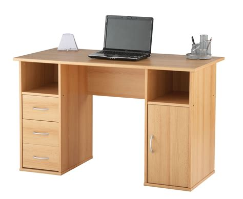 Desk For Office Beech Home Office Desk Lynton Reality