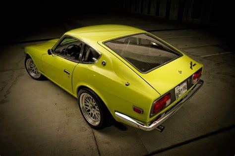 1972 nissan datsun 240z 1972 datsun 240z lime green auto restorationice