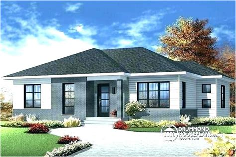 3 bedroom modern contemporary house plans 187 warm