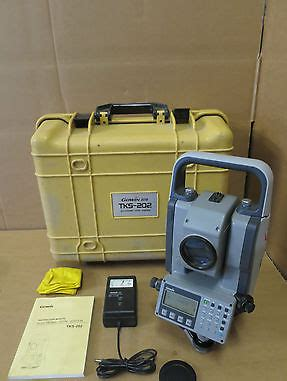 Electronic Survey Tools - topcon gowin tks 202 2 total station electronic construction survey tool
