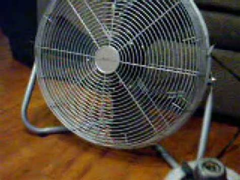 aloha breeze floor fan stupid dead fan youtube