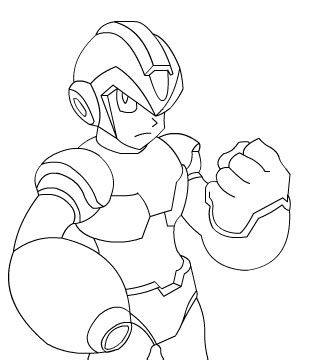 Mega X Sketches by Pin Megaman 7 On On