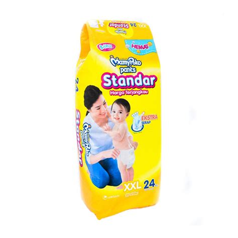 Mamypoko Standar Xl Isi 38 jual mamy poko popok standar size isi 24
