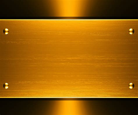 template gold free gold metallic design backgrounds for powerpoint