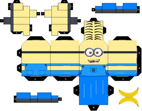 Papercraft Website - cubeart on minions lego wars and deviantart