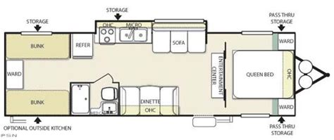 travel trailer floor plans with bunk beds travel trailer floor plans with bunk beds 28 images