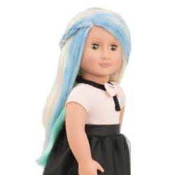 hairstyles for our generation dolls our generation 174 deco doll amya chalk hair target