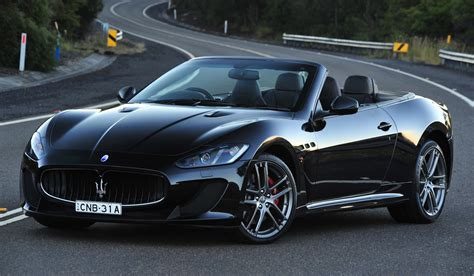 black maserati sports car maserati grancabrio mc 355k sports flagship launched