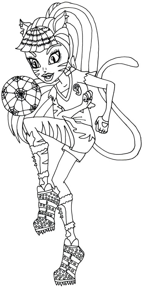Free Printable Monster High Coloring Pages March 2014 Coloring Sheets For High Printable
