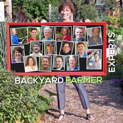 backyard farmer department of agronomy and horticulture university of nebraska lincoln