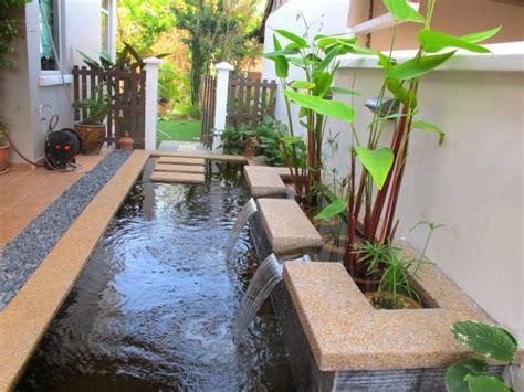 desain kolam di depan rumah gambar desain kolam ikan minimalis di depan rumah