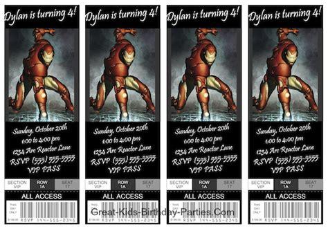 printable iron man invitations iron man invitations