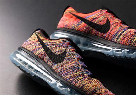 Nike Flyknit Airmax Multi Color nike flyknit air max multi color 2016 sneakernews