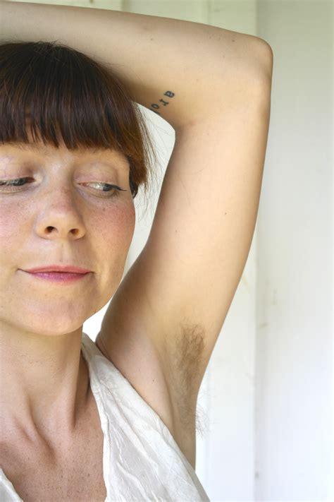My hairy armpits