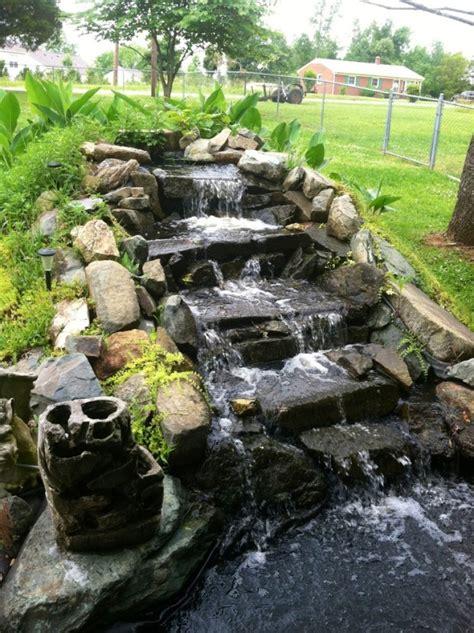 amazing garden waterfall ideas