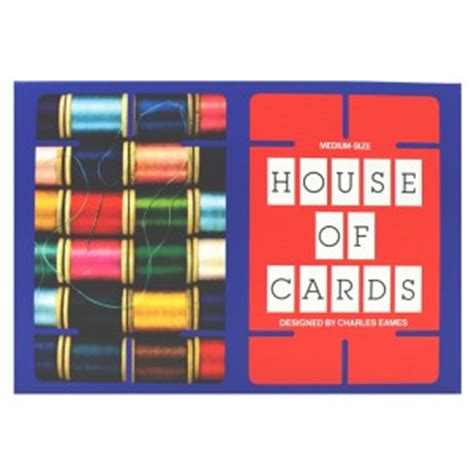 Eames House Of Cards Template eames medium house of cards