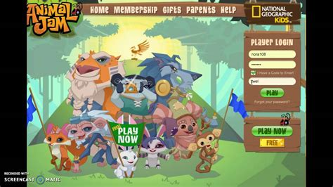 animal jam codes september 2016 animal jam gift codes gift ftempo