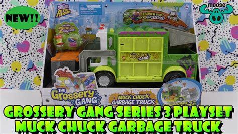 grossery series 3 new grossery series 3 muck chuck garbage truck