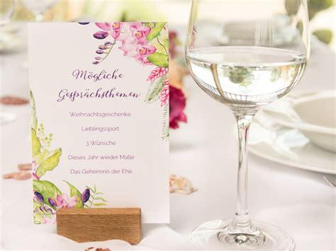 Ideen F R Hochzeit by Ideen F 252 R Gespr 228 Chsthemen Karten F 252 R Die Hochzeit