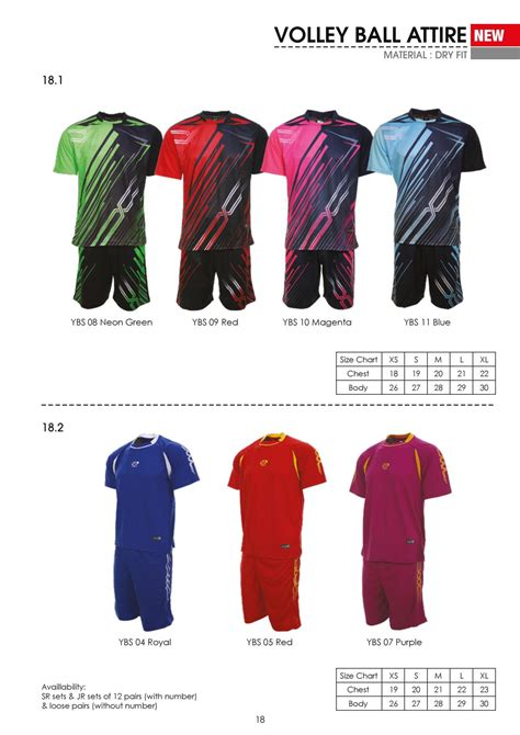 Kaos Bola Satu Set volley bola tar jersey end 1 16 2017 1 15 pm