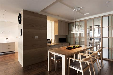 apartment with a retractable interior wall apartment with a retractable interior wall