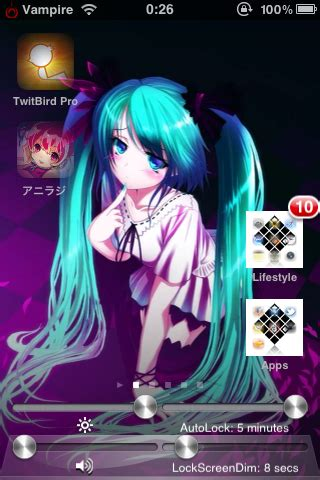 anime themes for iphone anime iphone theme scrollingboard