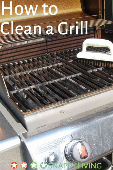 Backyard Grill Not Working How To Clean A Grill 12 Tips Snappy Living