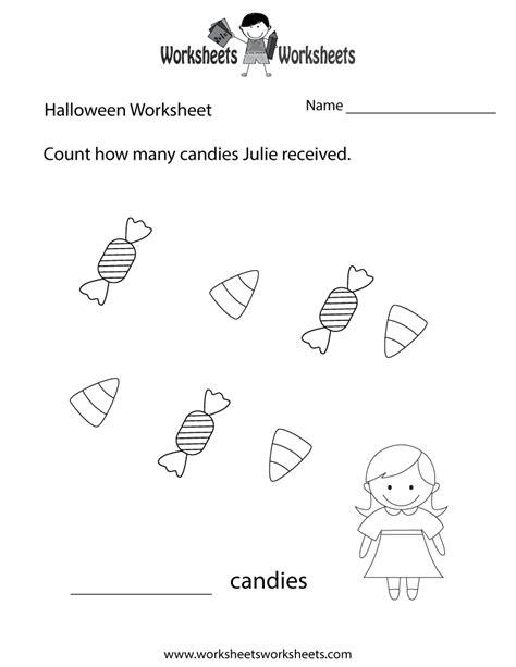 halloween counting worksheet free printable educational